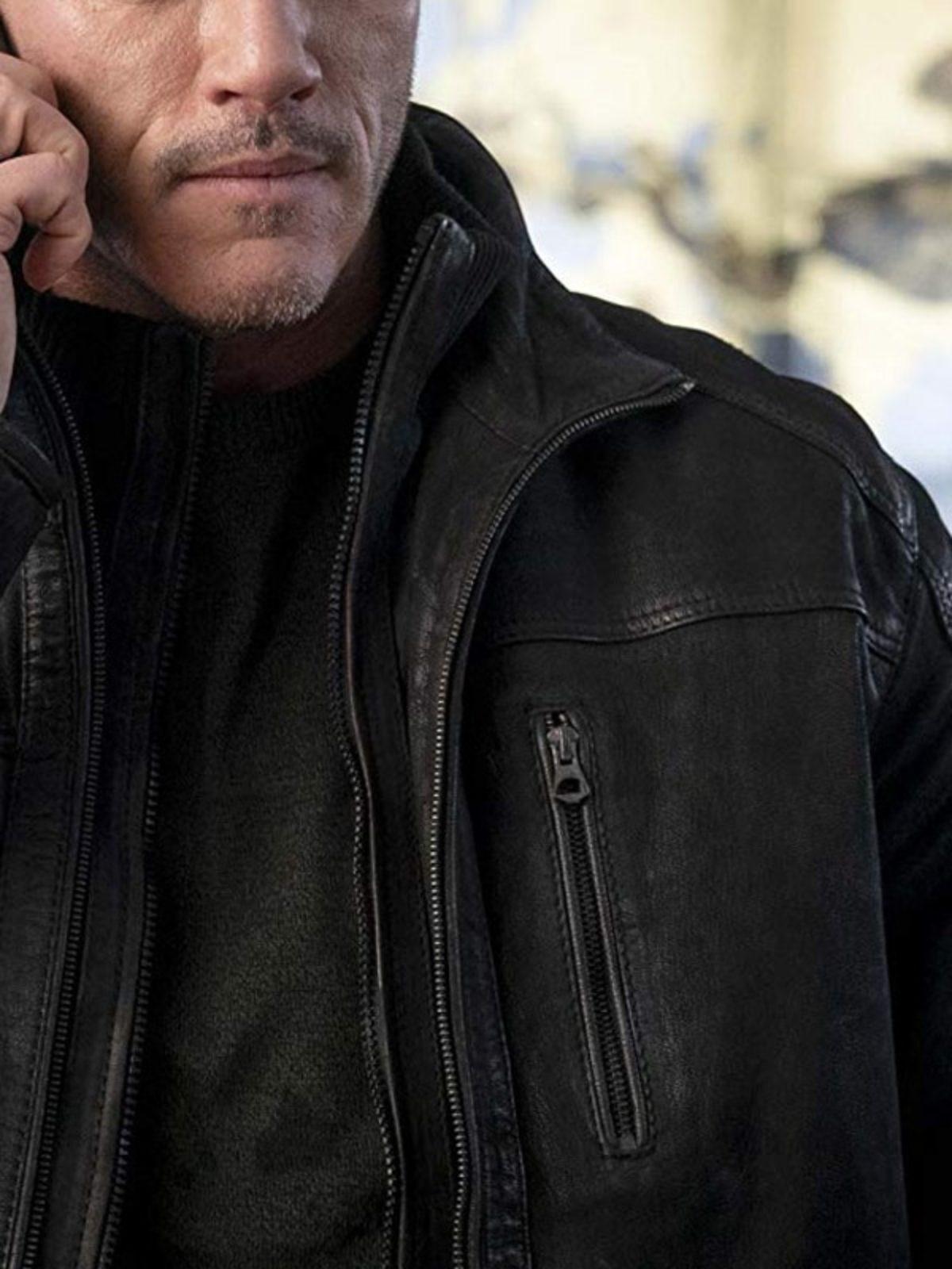 Alex Tchenkov Anna Luke Evans Leather Jacket