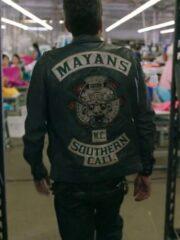Angel Reyes Mayans M.C. Clayton Cardenas Leather Vest