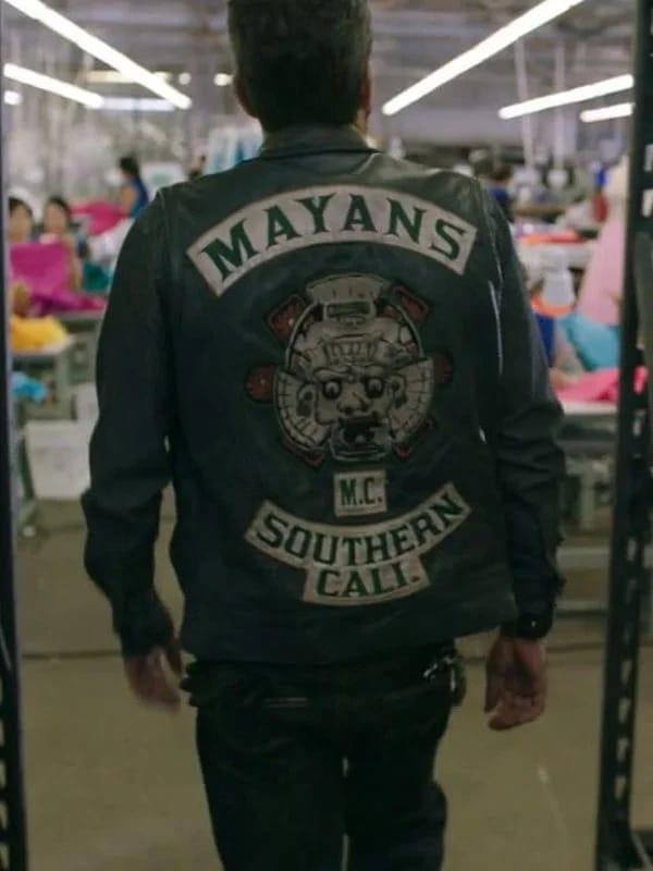 Angel Reyes Mayans M.C. Clayton Cardenas Leather Vest