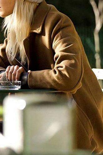 Anna Movie Sasha Luss Wool Coat