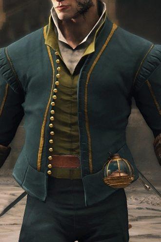 Benjamin O'Mahony Greedfall Vasco Jacket