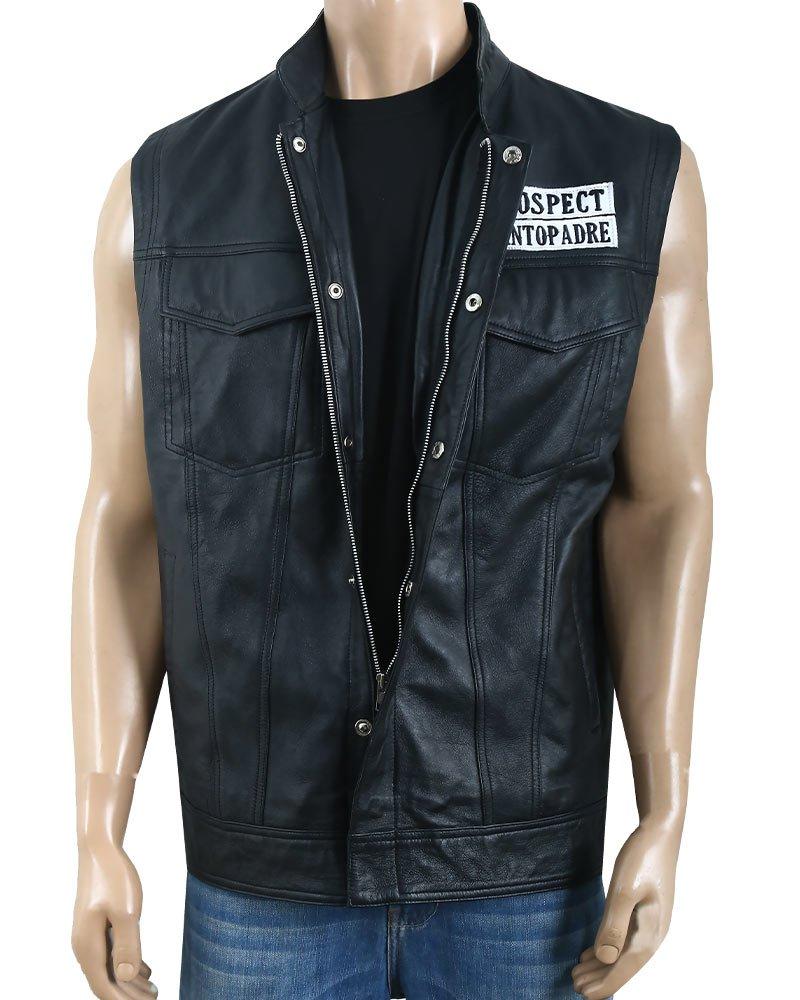 Ezekiel EZ ReyesMayans M.C. JD Pardo Leather Vest