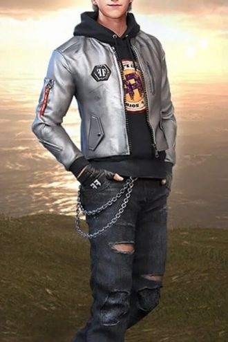 Free Fire Game Maxim Leather Jacket