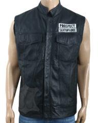 JD Pardo Leather Vest