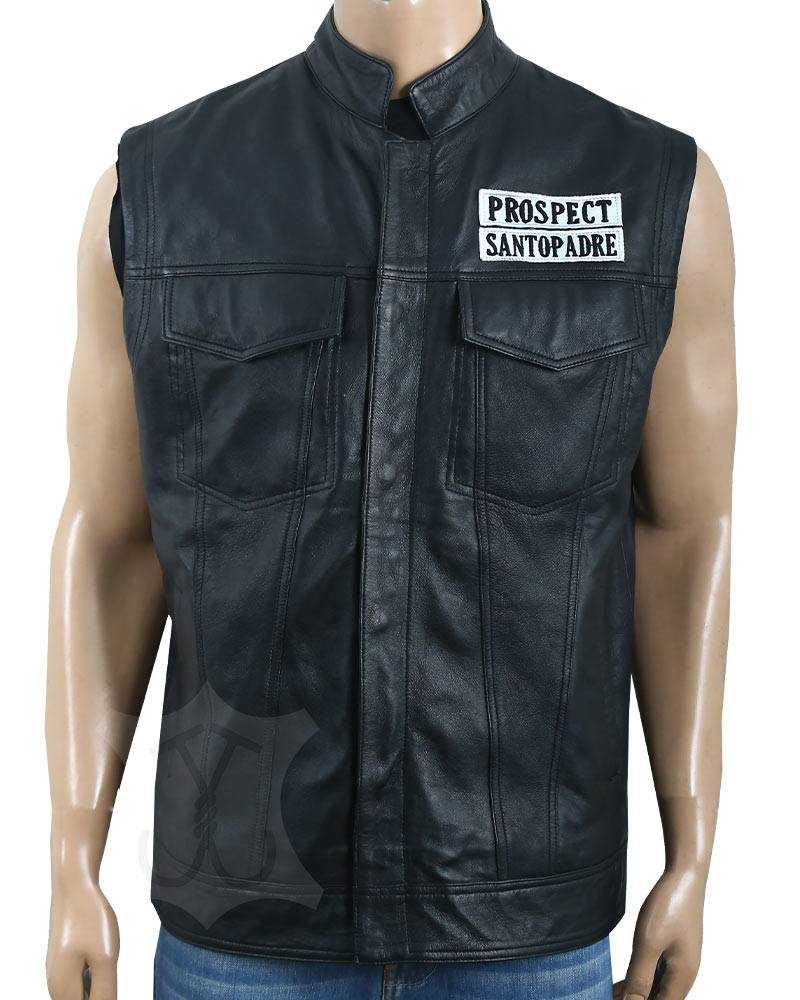 JD Pardo Leather Vest