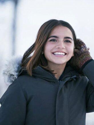 Julie Let It Snow Isabela Merced Cotton Jacket
