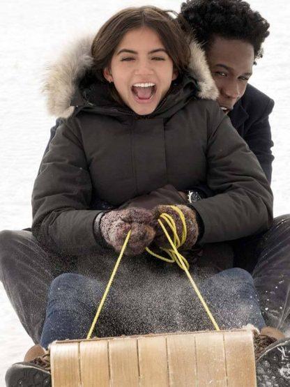 Julie Reyes Let It Snow Isabela Merced Coat