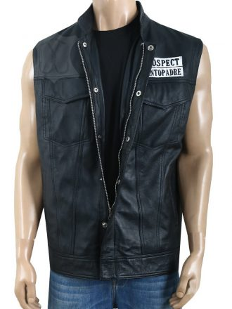 Mayans M.C. JD Pardo Leather Vest