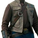 Star Wars Rise of the Skywalker Finn Leather Vest