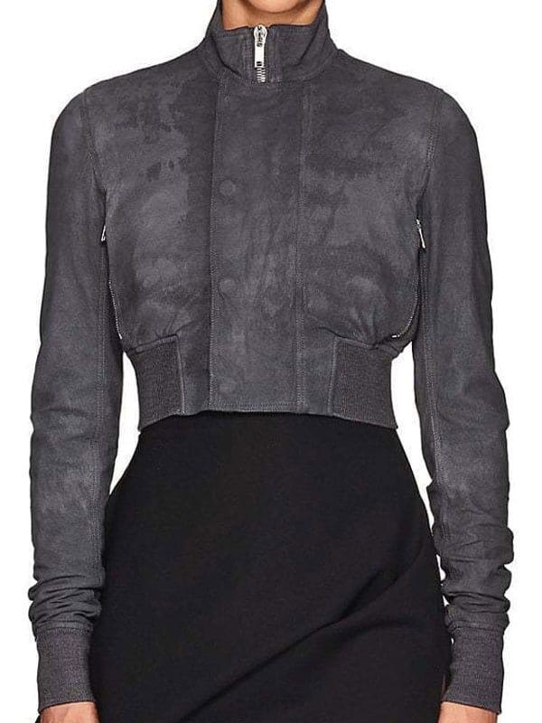 Shadowhunters Season 3 Katherine Mcnamara Leather Jacket
