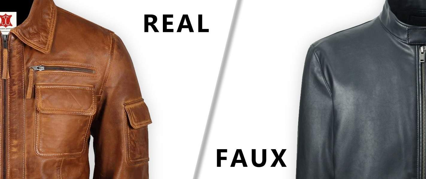 Fake and Real Leather Jackets