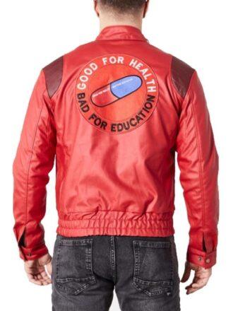 Akira Kaneda Jacket Pill Patch Logo Good For Health Bad For Education 02