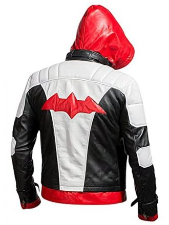 Arkham Knight Jason Todd Leather Jacket