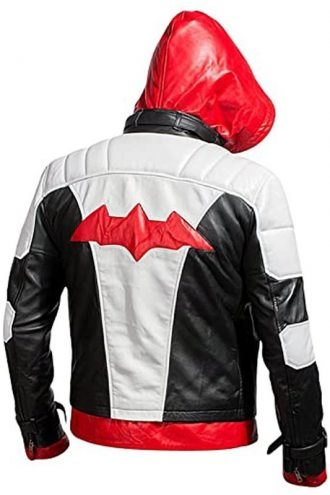 Arkham Knight Jason Todd Leather Jacket