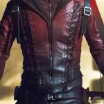 Arrow Season 3 Roy Harper Colton Haynes Leather Jacket 01