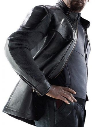 Avengers Age Of Ultron Samuel Jackson Nick Fury Leather Jacket