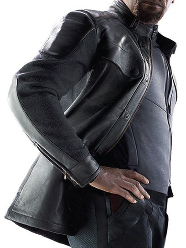 Avengers Age Of Ultron Samuel Jackson Nick Fury Leather Jacket