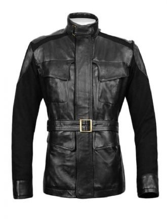 Avengers Age Ultron Samuel Jackson Nick Fury Leather Jacket