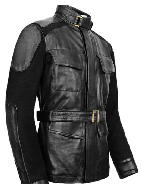 Avengers Age Ultron Samuel Jackson Nick Fury Leather Jacket