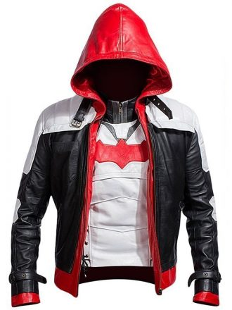 Batman Arkham Knight Jason Todd Leather Jacket Red Hood