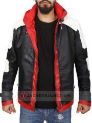 Batman Arkham Knight Jason Todd Leather Jacket Red Hood