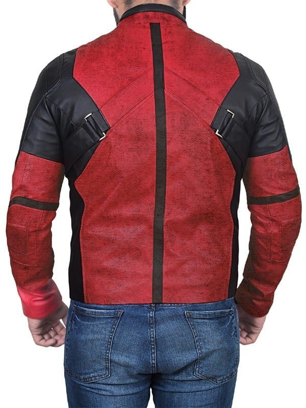 Deadpool 2 Wade Wilson Ryan Reynolds Leather Jacket