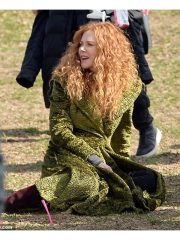 Grace Sachs Green Long Coat