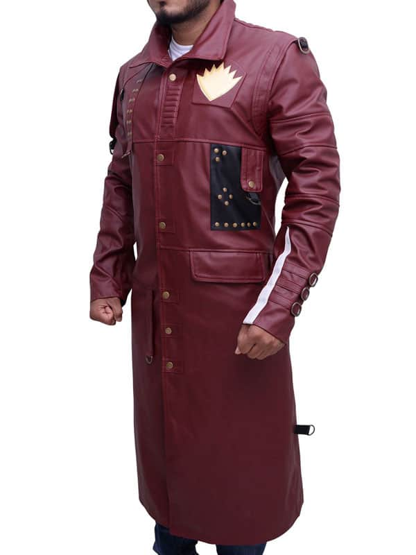 Guardians of the Galaxy 2 Michael Rooker Yondu Udonta Leather Coat 02