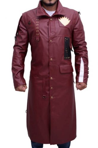 Guardians of the Galaxy 2 Michael Rooker Yondu Udonta Leather Coat 03