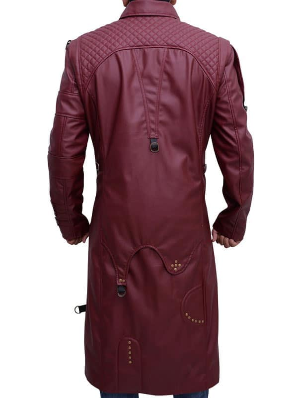 Guardians of the Galaxy 2 Michael Rooker Yondu Udonta Leather Coat 05