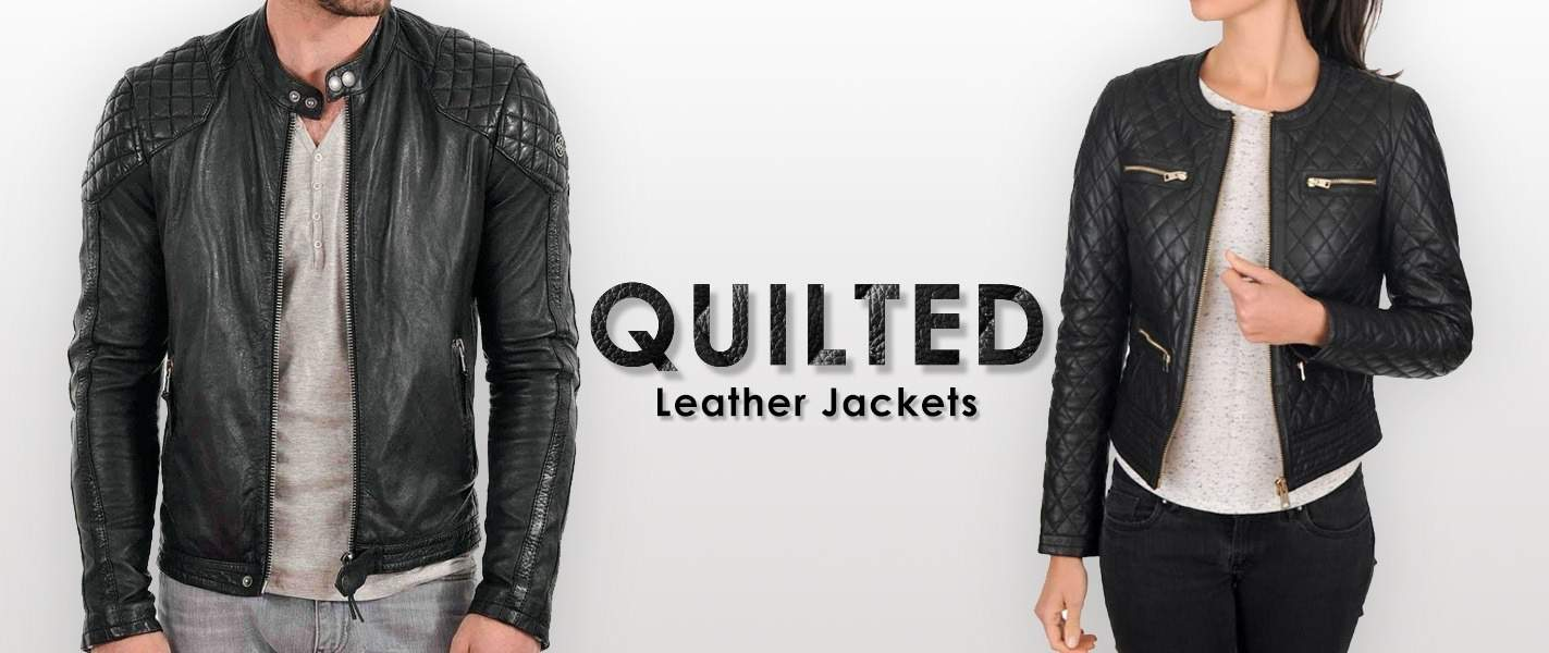 Quilted Leather Jackets