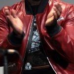 Star Wars Force Awakens John Boyega Leather Bomber Jacket 01
