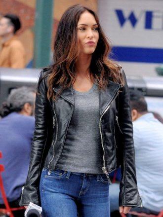 TMNT 2 Megan Fox Leather Jacket