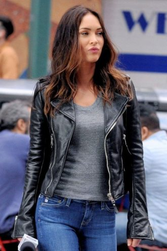 TMNT 2 Megan Fox Leather Jacket