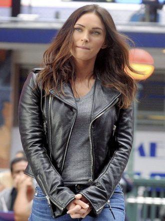 Teenage Mutant Ninja Turtles 2 Megan Fox Leather Jacket Black