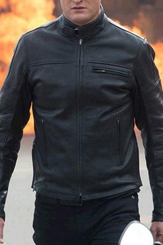 Terminator Genisys Jason Clarke Leather Jacket 01