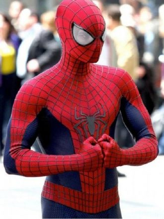 The Amazing Spider Man 2 Peter Parker Cosplay Jacket