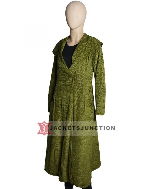 The Undoing Grace Sachs SO1 Green Long Coat