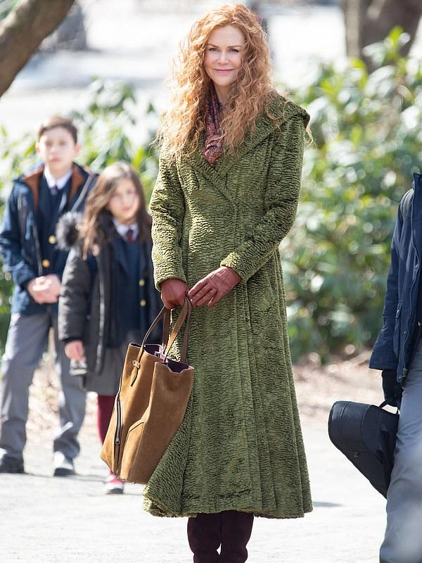 The Undoing Nicole Kidman Green Coat