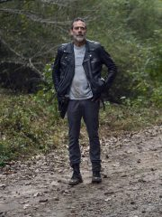 The Walking Dead TV Series Negan Black Leather Jacket