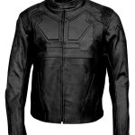 Oblivion Jack Harper Tom Cruise Leather Biker Jacket Black
