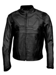 Oblivion Jack Harper Tom Cruise Leather Biker Jacket Black