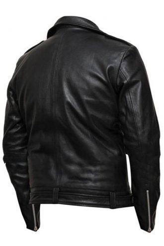 Walking Dead Negan Leather Biker Jacket