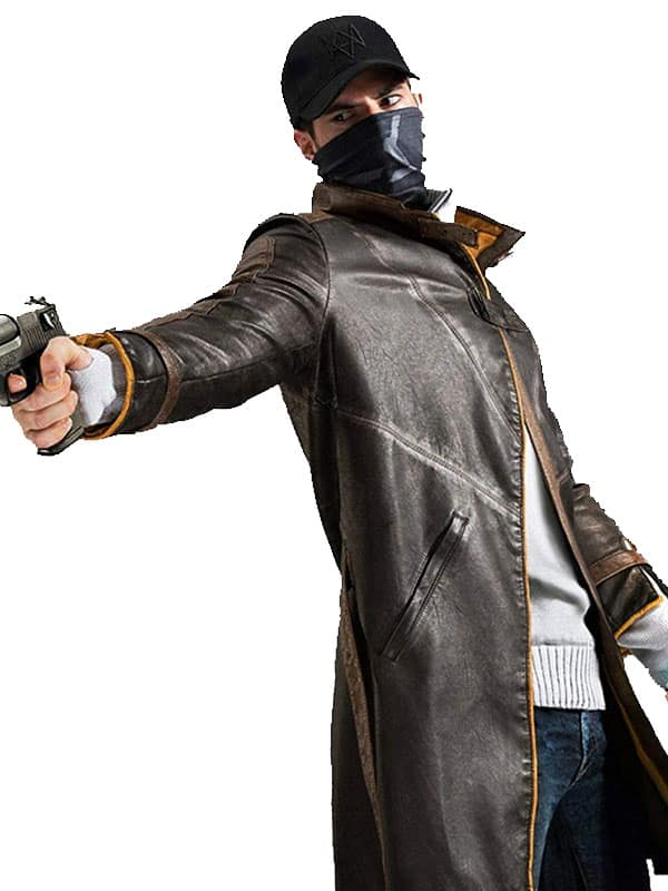 Watch Dogs Aiden Pearce Leather Coat 2
