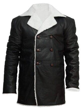 mens-real-sheepskin-winter-shearling-fur-coat-black FRONT