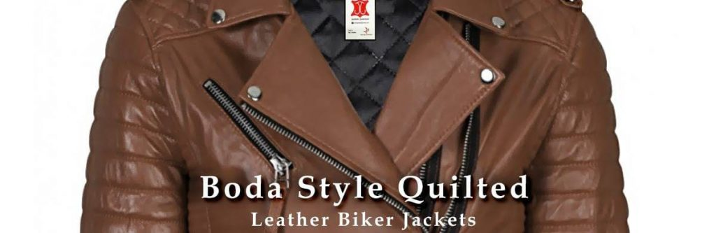 Boda Style Quilted Leather Biker Jackets Featured