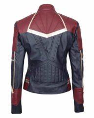Captain Marvel Carol Danvers Leather Jacket 1