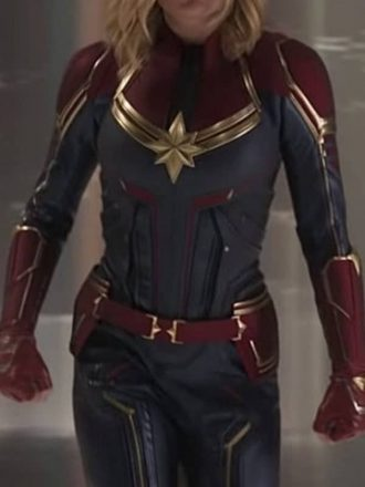 Captain Marvel Carol Danvers Leather Jacket 2