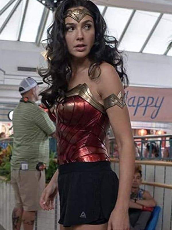 Gal Gadot Wonder Woman 1984 Movie Leather Jacket 3