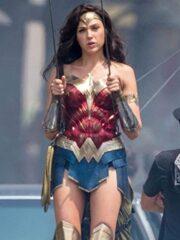 Gal Gadot Wonder Woman 1984 Movie Leather Jacket 4